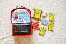 Ready America emergency disaster prep kit