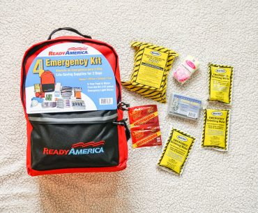 Ready America emergency disaster prep kit