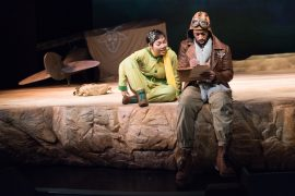 The Little Prince at the Seattle Children's Theatre is for kids ages 6 and up. Photo by Elise Bakketun