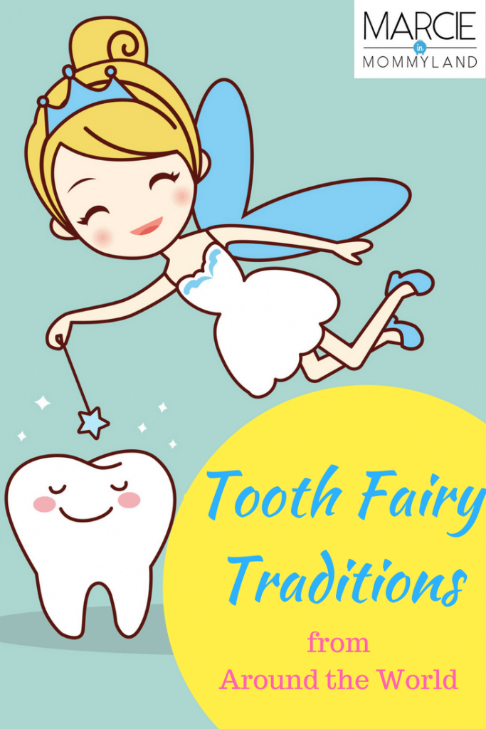 Tooth Fairy Traditions from the U.S.A, Europe and Asia