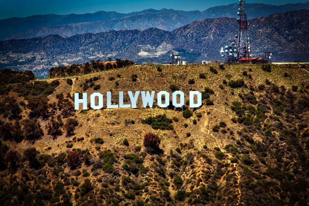 Hollywood sign is a top attraction in Los Angeles, CA and makes a great vacation destination