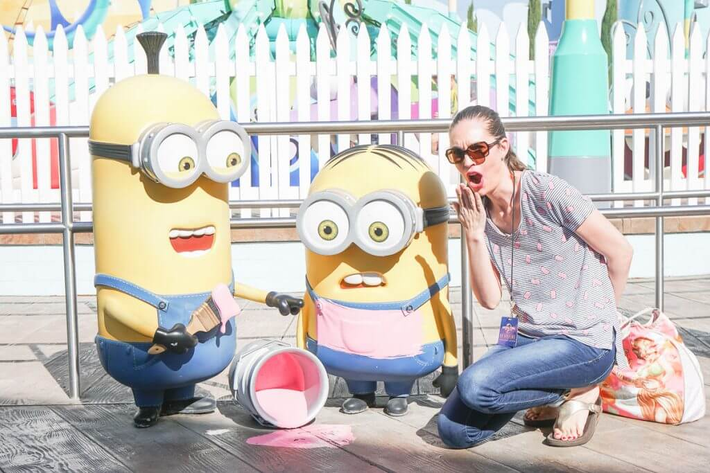 Minion Mayhem at Universal Studios Hollywood, California