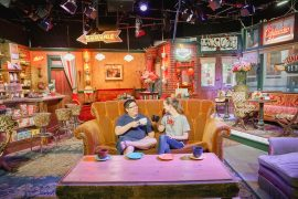 Set of Central Perk from Friends at Warner Bros. Studio Tour