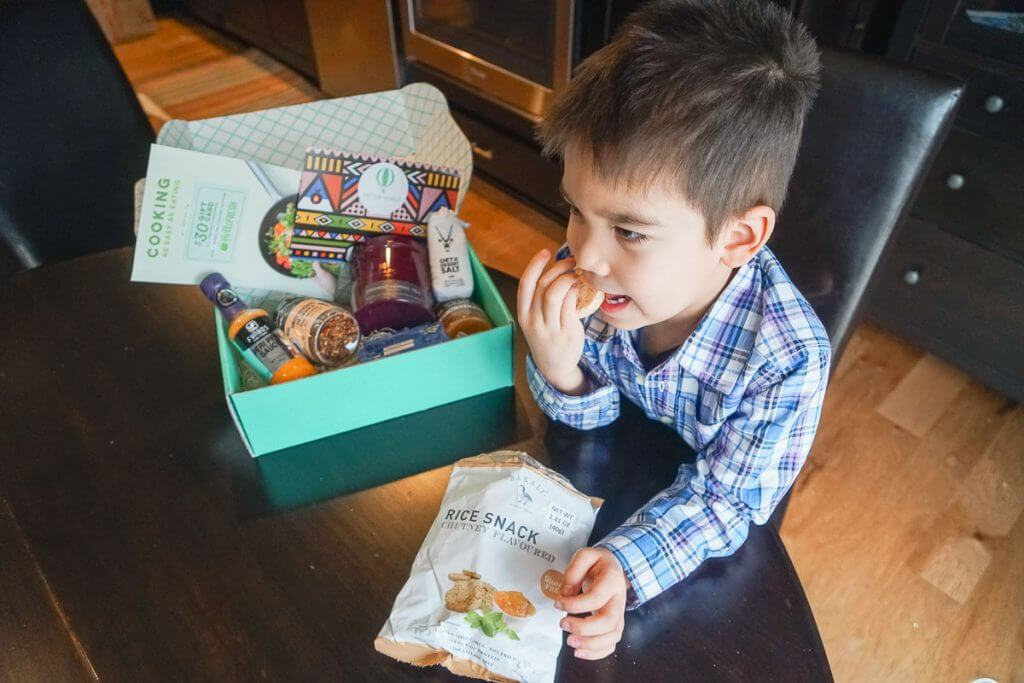 Try the World is a monthly subscription featuring foods from around the globe