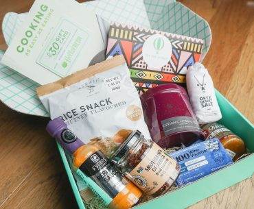 Try the World is a subscription box that features a new global cuisine each month