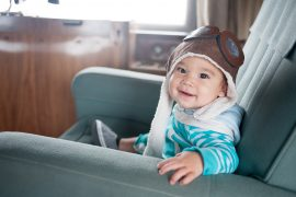 Flying with a Baby can be less stressful with my tips and tricks for family travel
