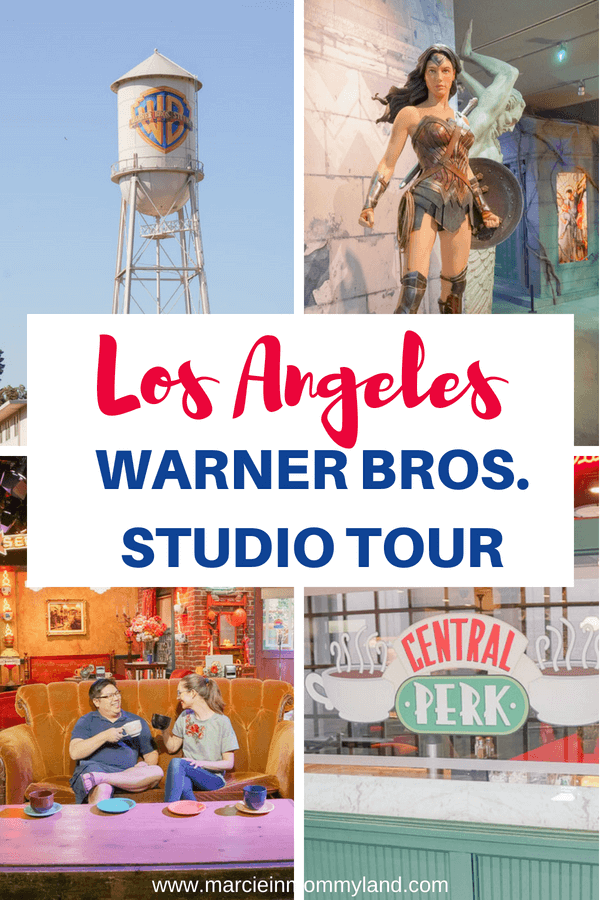 Are you a TV junkie, like me? Do you love Friends, Harry Potter, Gilmore Girls, Ellen, just to name a few? You'll want to add the Warner Bros. Studio Tour to your next Los Angeles vacation! Click to read more or pin to save for later. www.marcieinmommyland.com #warnerbros #studiotour #losangeles #california #warnerbrosstudiotour #harrypotter