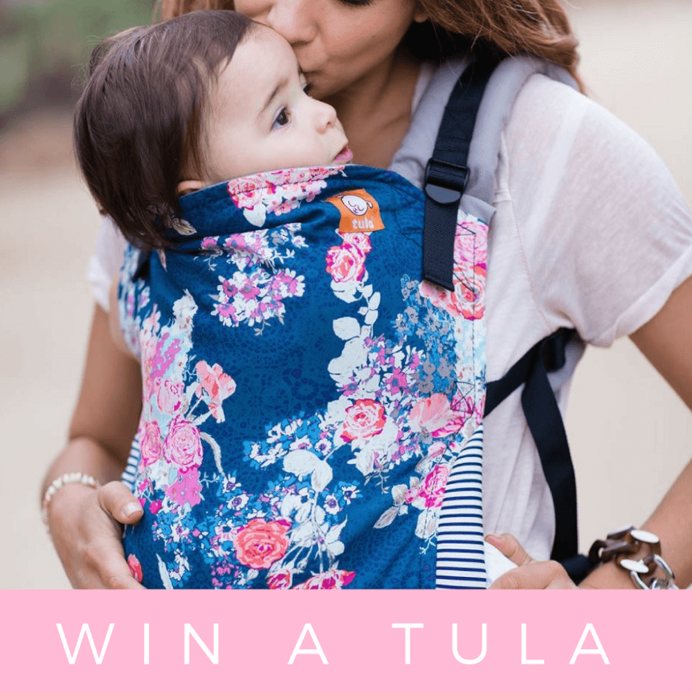 Win a Free-To-Grow Tula baby carrier which is my favorite baby travel product