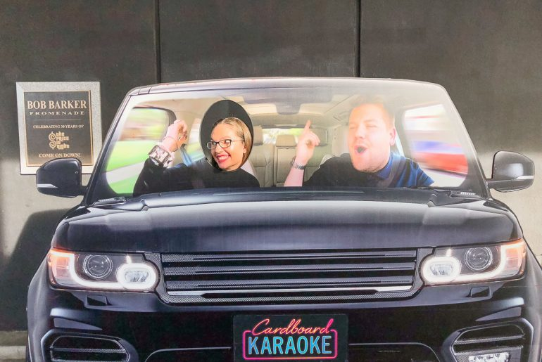Attending a TV taping of the Late Late Show with James Corden is just one of the free activities you can do in Los Angeles, California | How to Score Late Late Show Tickets (and what it's REALLY like) featured by top Seattle lifestyle blog, Marcie in Mommyland