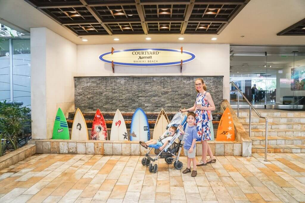 Courtyard by Marriott Waikiki Beach is a best hotels in Waikiki for families