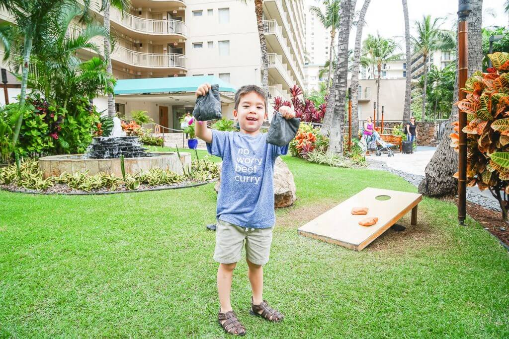 Courtyard Marriott Waikiki Beach is a great place to stay in Waikiki with kids on a Hawaii family vacation