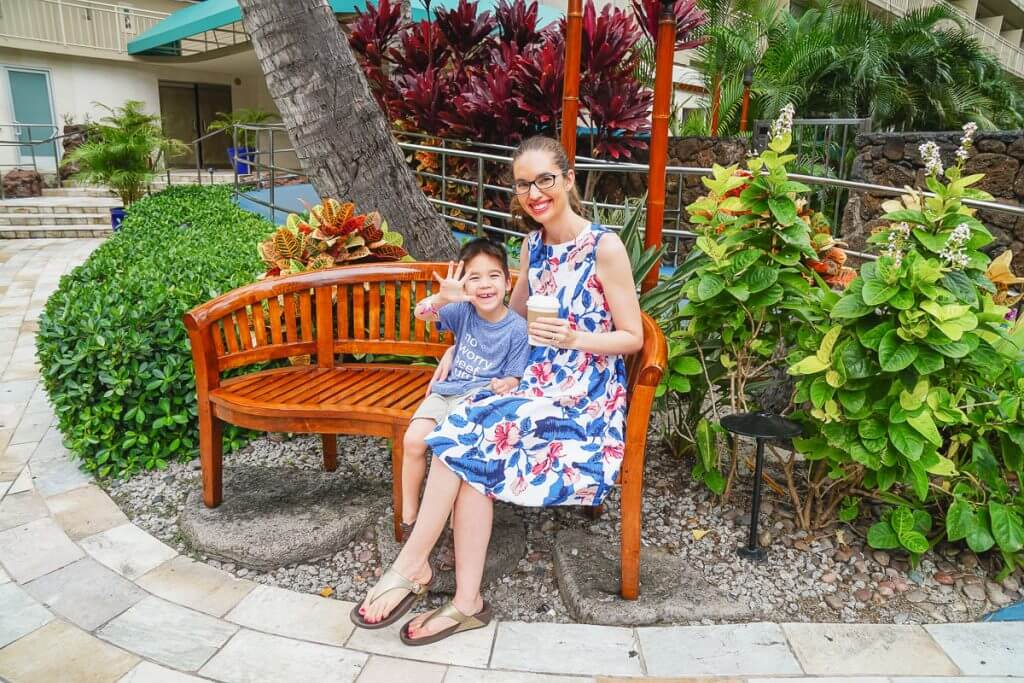 The valet service makes Courtyard Waikiki Beach a Best place to stay in Waikiki for families