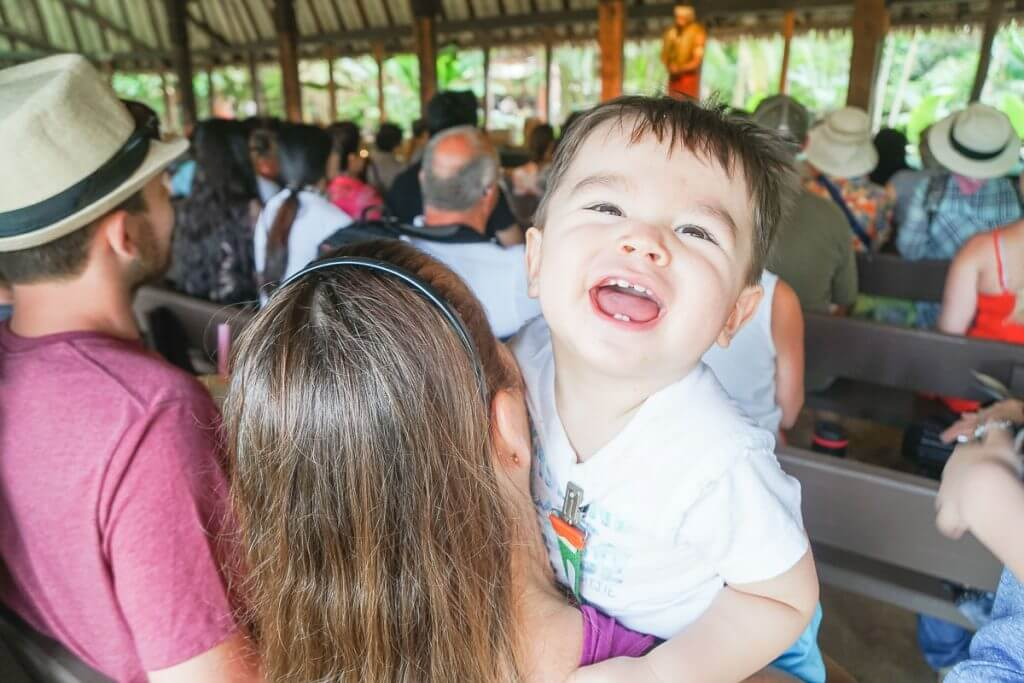 When visiting Oahu with kids, the Polynesian Cultural Center is one of the best family activities on oahu