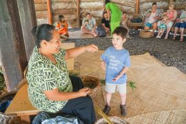 The Polynesian Cultural Center in Laie, Oahu on the North Shore provides family activities on oahu