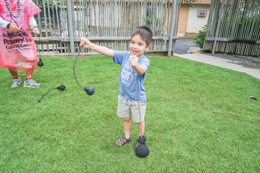 When visiting Oahu with kids, the Polynesian Cultural Center has so many fun things to do on Oahu.