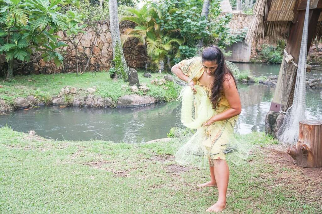 The Polynesian Cultural Center is full of family activities on Oahu with kids.