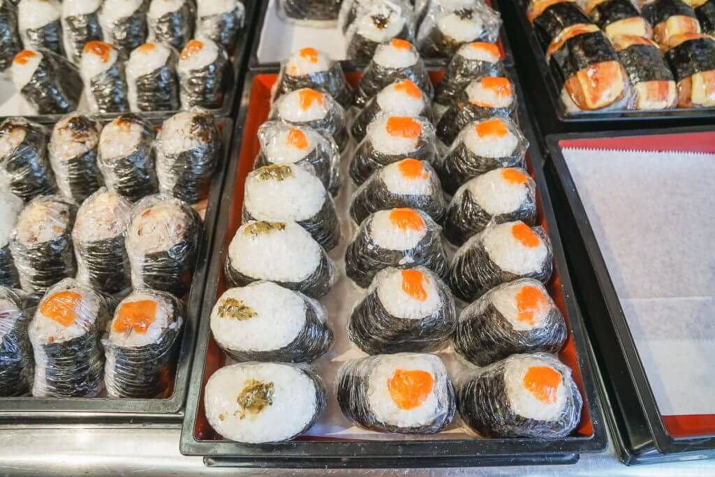 Musubi Cafe in Waikiki Beach is one of our favorite things to do in Oahu with kids