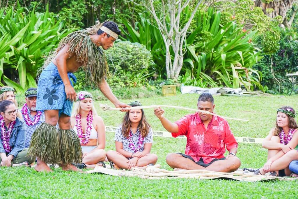 Traditional Samoan Kava ceremony at Toa Luau is a fun thing to do on Oahu.
