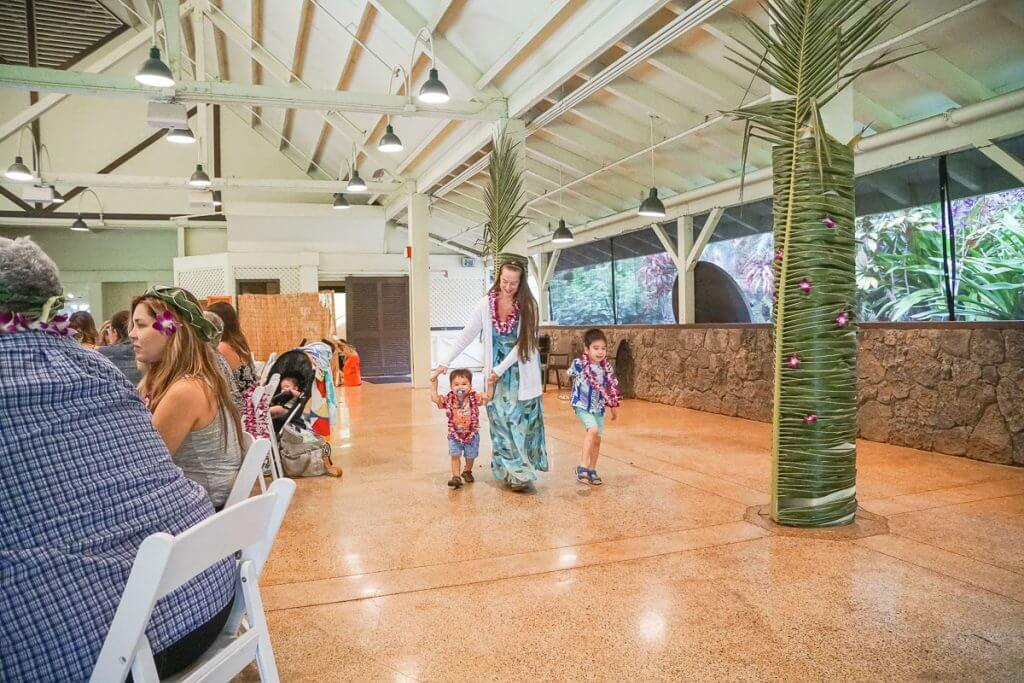 Toa Luau is an intimate luau experience on Oahu that is perfect for families with kids