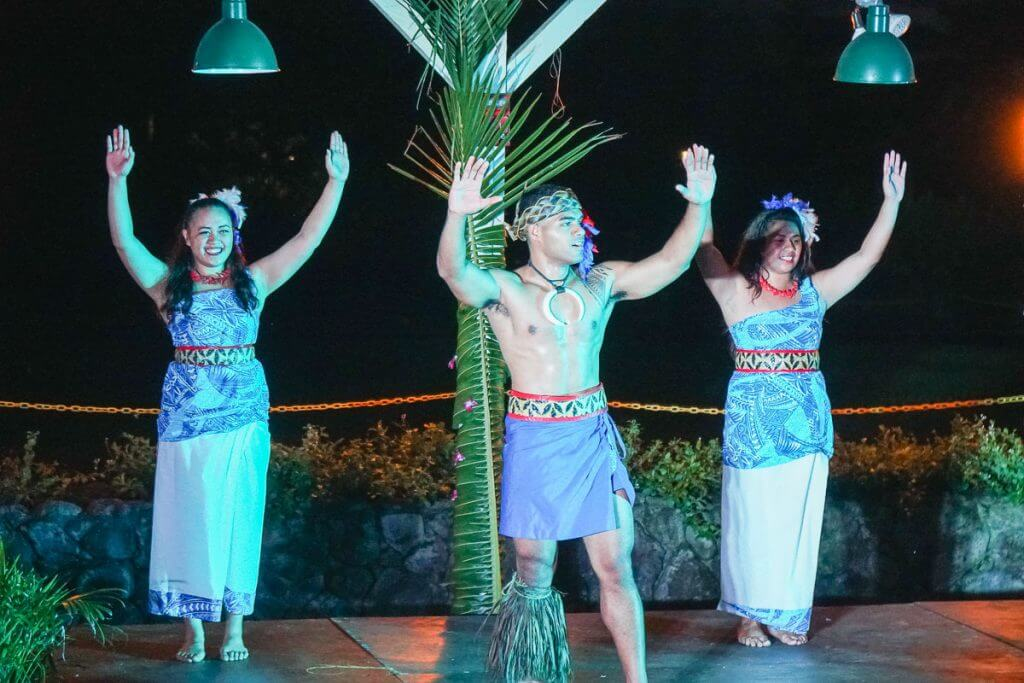 Samoan dancing at Toa Luau at Waimea Valley is a thing to do in North Shore of Oahu