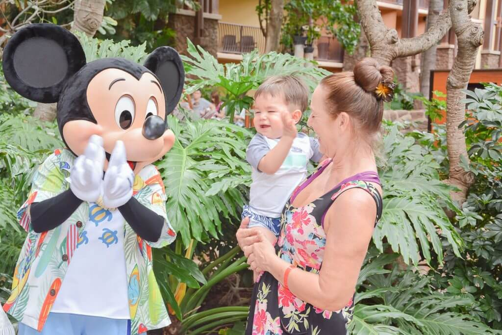 Disney Aulani resort tips featured by top US Disney blog, Marcie and the Mouse: Photo of Mickey Mouse at Disney Aulani Resort & Spa in Hawaii #aulani #disneydestination #hawaii