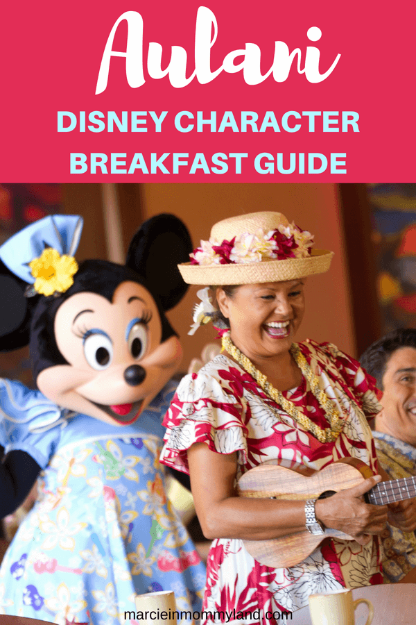 A complete guide to the Disney Aulani character breakfast at Aulani, a Disney Resort & Spa in Ko Olina, Oahu, Hawaii #aulani #disney #characterbreakfast #oahu #disneyresort