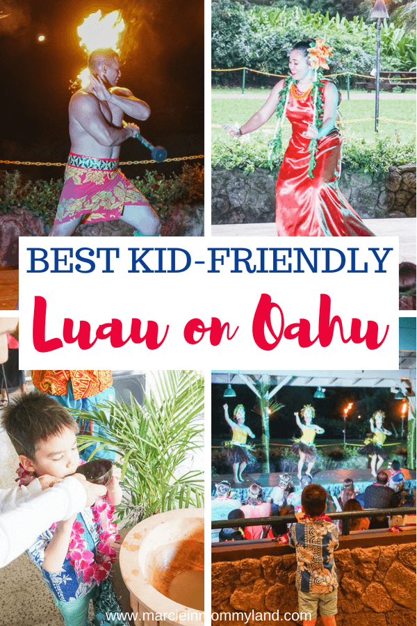 Bringing the kids to Oahu, Hawaii? Find out the best kid-friendly luau on Oahu. From a fresh flower lei greeting to a kava cereoony, to crafts for kids, plus food and entertainment, Toa Luau is the newest luau on Oahu. Click to read more or pin to save for later. www.marcieinmommyland.com #toaluau #oahu #hawaii #luau #familytravel #travelwithkids #travel