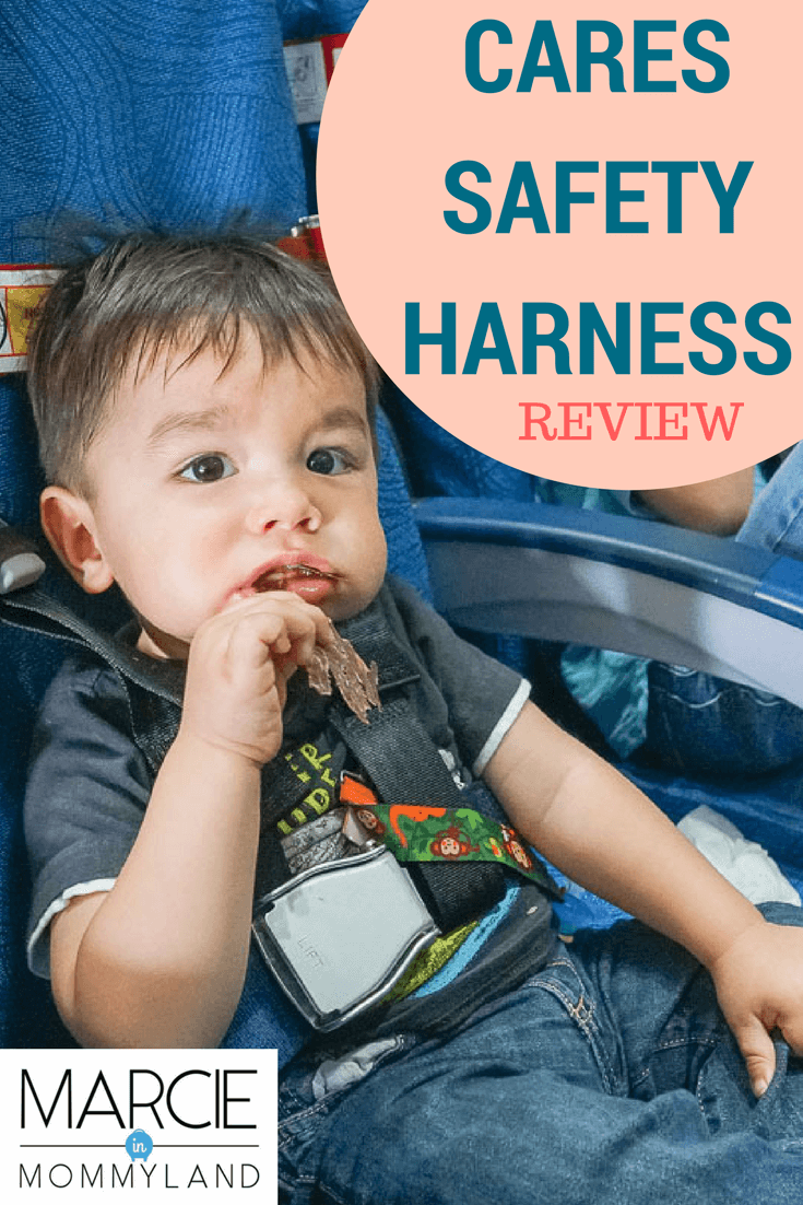 CARES Safety Harness Review for Flying with a Baby or Toddler