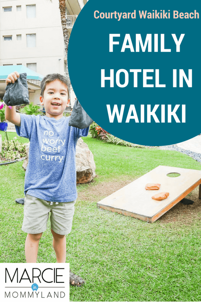 Courtyard by Marriott Waikiki Beach is a best place to stay in waikiki for families, best hotels in waikiki for families, waikiki family accommodation