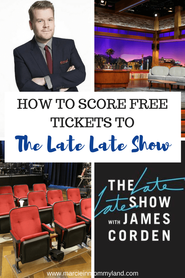 Find out how to score free tickets to The Late Late Show with James Corden, which is a free thing to do in Los Angeles #jamescorden #freetickets #losangeles #thelatelateshow #tvtaping | | How to Score Late Late Show Tickets (and what it's REALLY like) featured by top Seattle lifestyle blog, Marcie in Mommyland