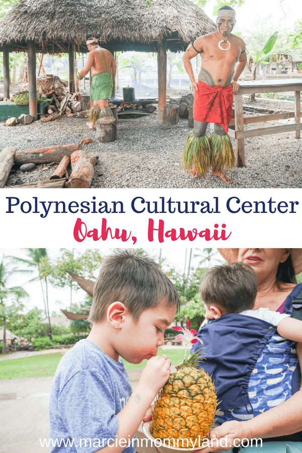 Find out why the Polynesian Cultural Center is a top attraction on Oahu, Hawaii. Click to read more or pin to save for later. www.marcieinmommyland.com #polynesianculturalcenter #laie #oahu #hawaii #hawaiiattractions #familytravel