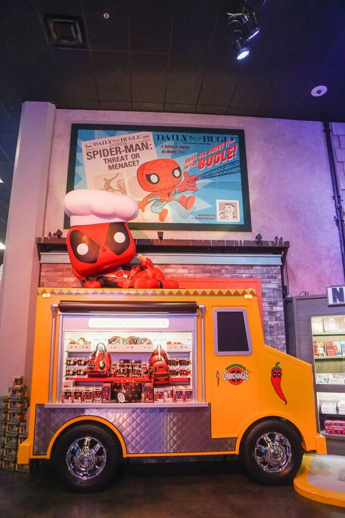 Photo of Deadpool at Funko Headquarters in Everett, WA near Seattle #deadpool #deadpool2 #funko #funkohq #stanlee #marvel #marveluniverse