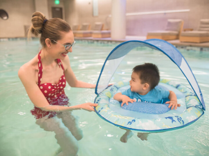 How to Keep Your Baby Safe in a Swimming Pool