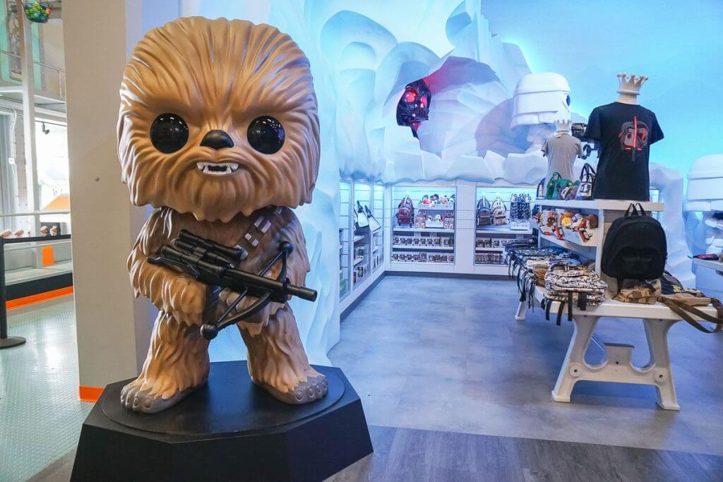 Photo of Funko Chewbacca at the Funko Headquarters in Everett, WA #starwars #funko #everett #seattle #chewbacca #pnw