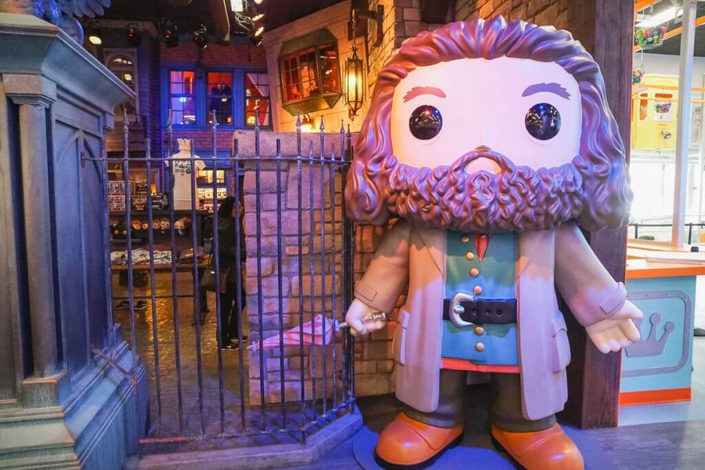 Photo of Hagrid from Harry Potter at Funko Headquarters in Everett, WA near Seattle #harrypotter #hagrid #jkrowling #funko #funkohq #everettwa #seattle