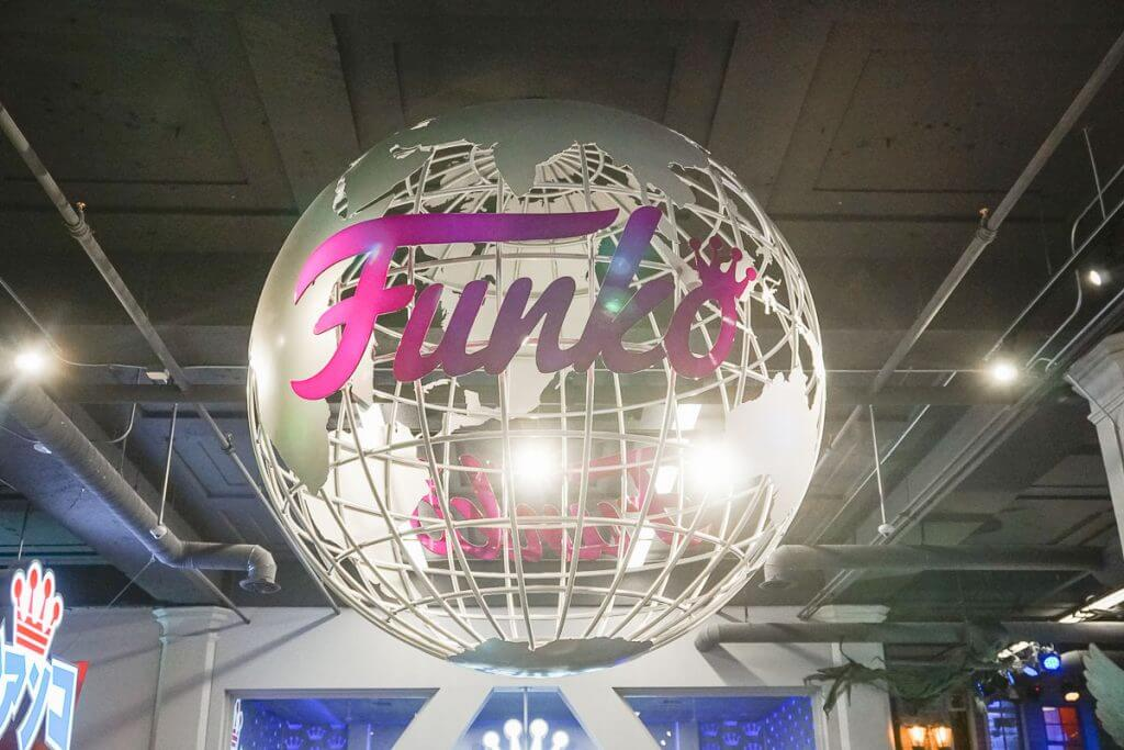 Photo of the Funko sign inside the Funko Headquarters in Everett, Washington near Seattle #funko #funkohq #everettwa #snohomish #seattle