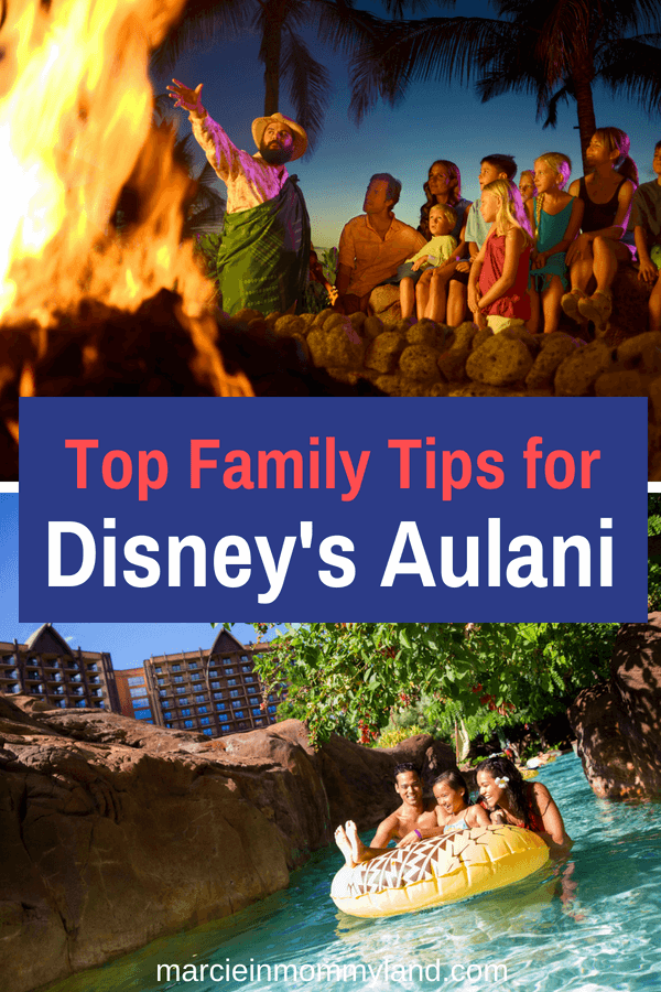 Find out Disney's Aulani Resort tips for your vacation at Aulani, a Disney Resort & Spa on Oahu, Hawaii. From Disney character meals, things to do at Aulani, the Disney PhotoPass, and everything else you need to make the most of your Hawaiian vacation at Aulani Resort. Click to read more or pin to save for later. www.marcieinmommyland.com #disney #aulani #disneysmmc #disneymom #aulaniresort #disneyaulaniresort #oahu #hawaii #moana #familytravel #disneyvacation