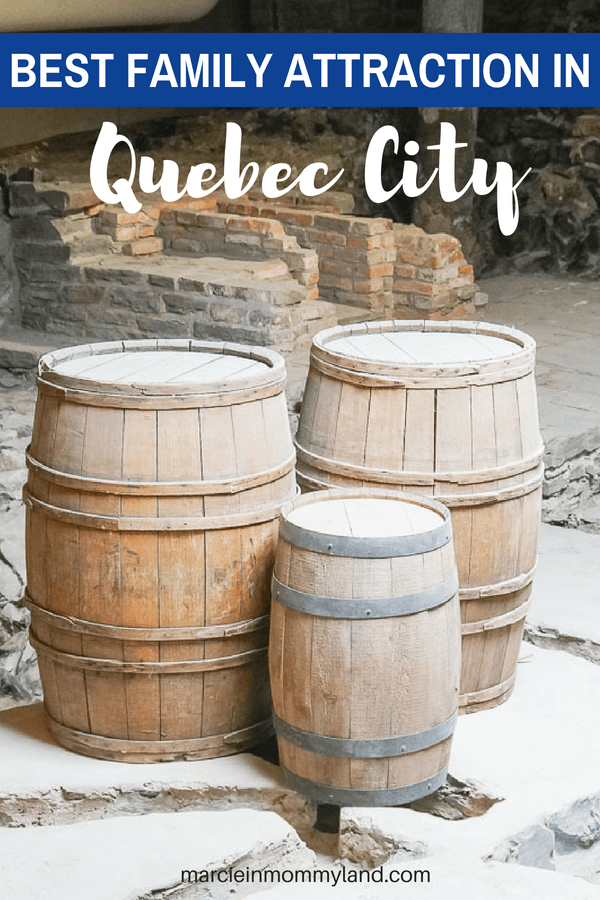 Saint-Louis Forts and Châteaux National Historic Site is one of the best family attractions in Quebec City #quebeccity #oldquebec #quebecregion #canada