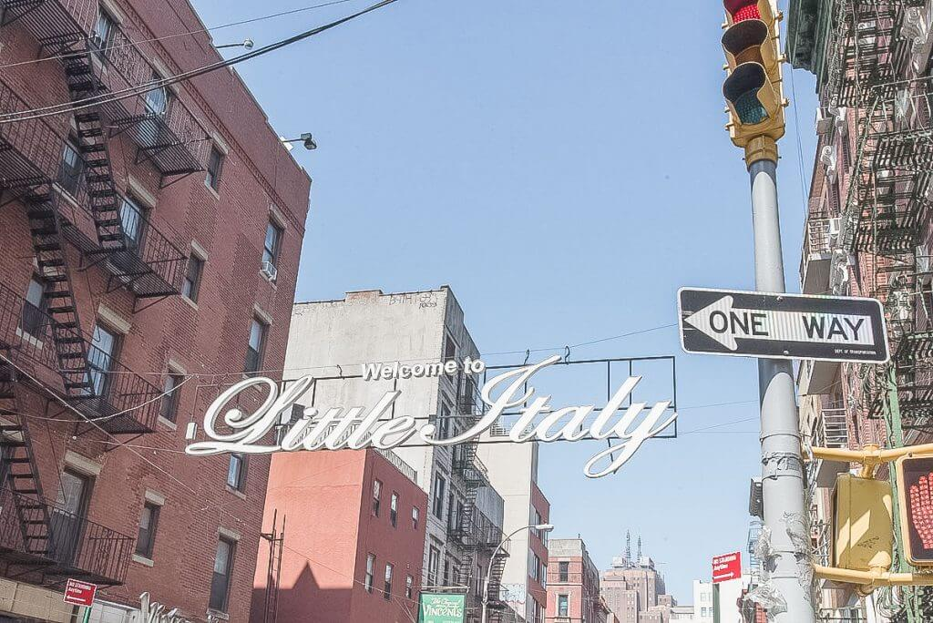 Photo of Little Italy in New York City, which was a stop on our New York City Sightseeing tour #nycsightseeing #littleitaly #nyc #littleitalynyc #newyorkcitytour