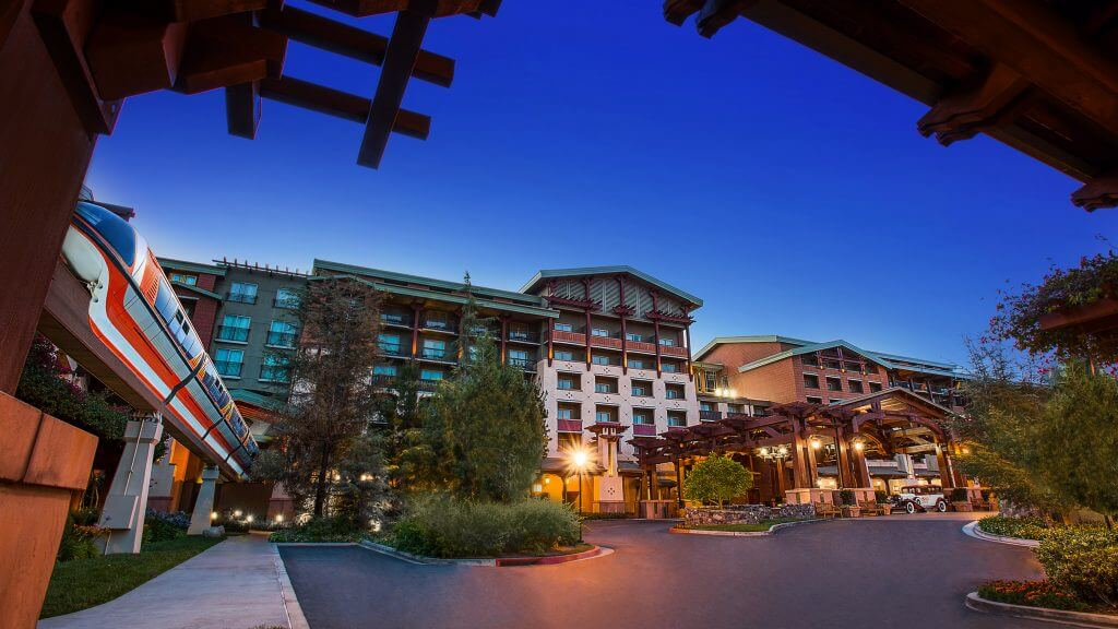 Photo of Disney's Grand Californian Hotel & Spa, which is a great place to stay at Disneyland with kids or Disneyland with toddlers #disney #disneyland #disneylandhotel #grandcalifornian #disneylandresort