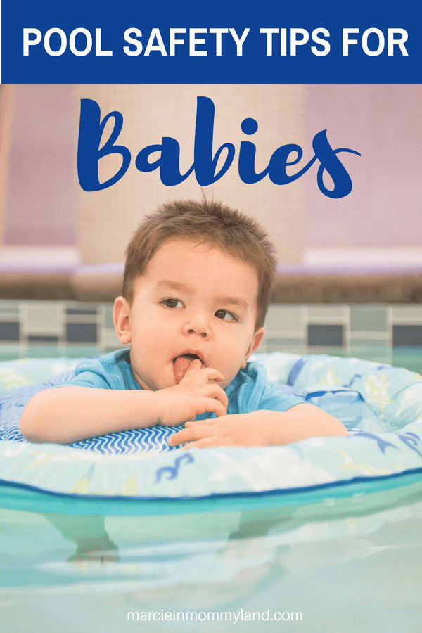 Pool safety tips for babies and toddlers for your next family travel summer vacation #poolsafety #babyfloat #summervacation #summersafety