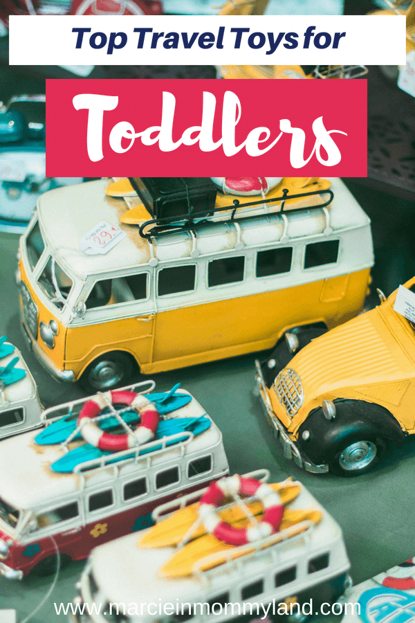 Find out the top travel toys for toddlers, including the best airplane travel toys for toddlers #familytravel #traveltoys #toddlertoys #toddler #travelwithkids | Best travel toys for toddlers featured by top Seattle family travel blog, Marcie in Mommyland
