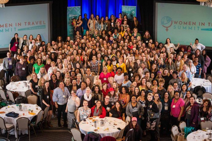 Photo of the 2018 Women in Travel Summit at the Fairmont Chateau Frontenac in Quebec City, Canada #wits18 #womenintravelsummit #chateaufrontenac #fairmontchateaufrontenac #quebeccity #blogconference #travelblog #travelblogging #travelconference