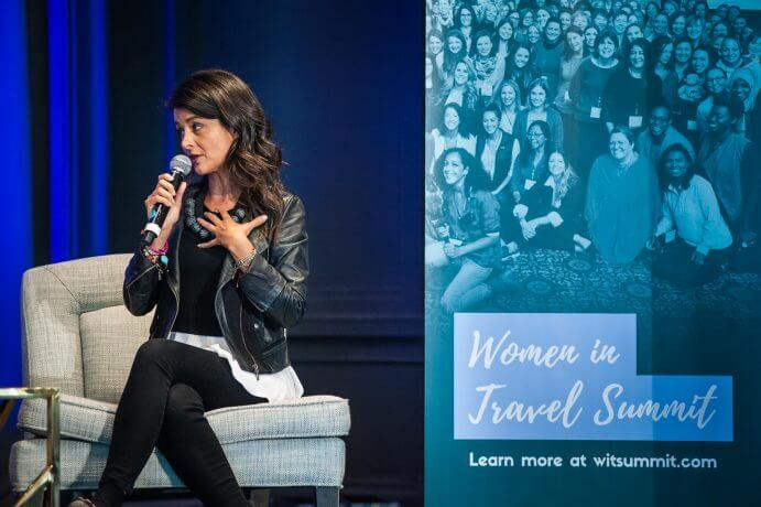 Photo of Ana Flores at the Women in Travel Summit in Quebec City, Canada #wits18 #womenintravelsummit #anaflores #travelblog