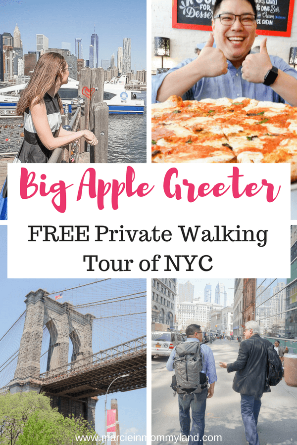 Big Apple Greeter is a volunteer organization featuring free private tours of New York City #nyc #newyorkcity #walkingtour #freethingstodoinnyc #freenyctour #nyctour