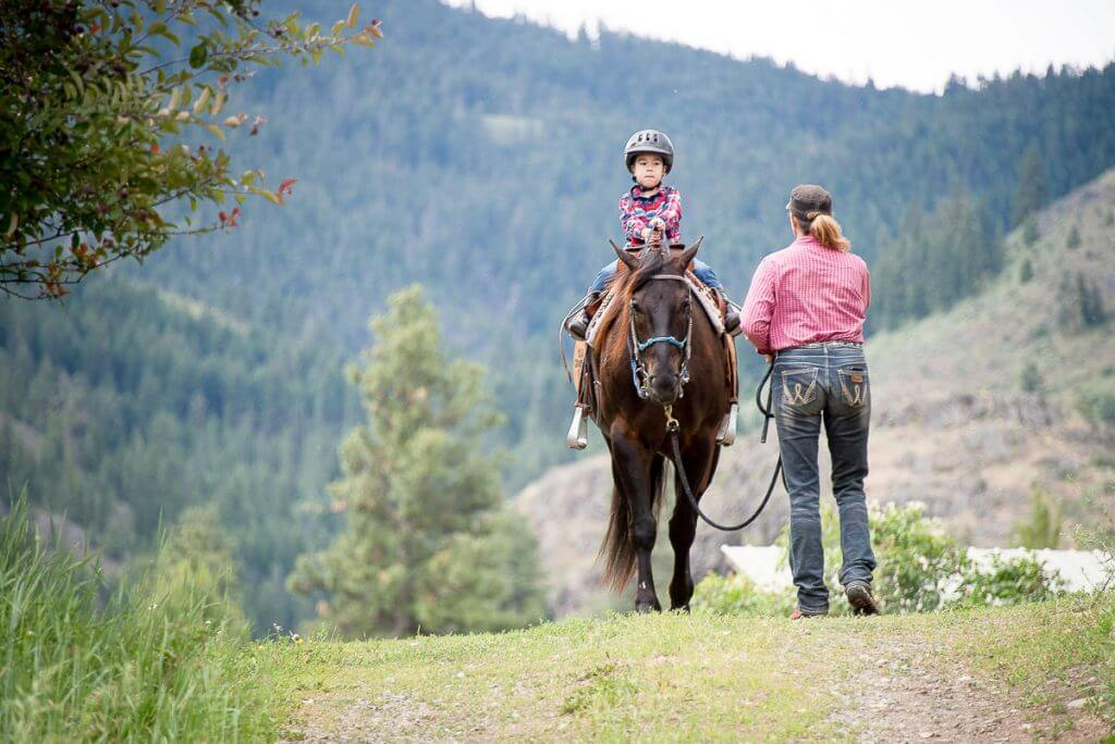 Photo of ThunderFoot Riding, LLC in Twisp, WA a horseback riding ranch in Eastern Washington #horse #horsebackriding #horsebacklessons #ridinglessons #twisp #winthropwa #methowvalley