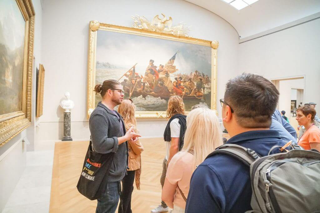 Photo of the best NYC tour of The Metropolitan Museum of Art from Museum Hack #museumhack #themet #nyc #metropolitanmuseumofart #nyctour #newyorkcity