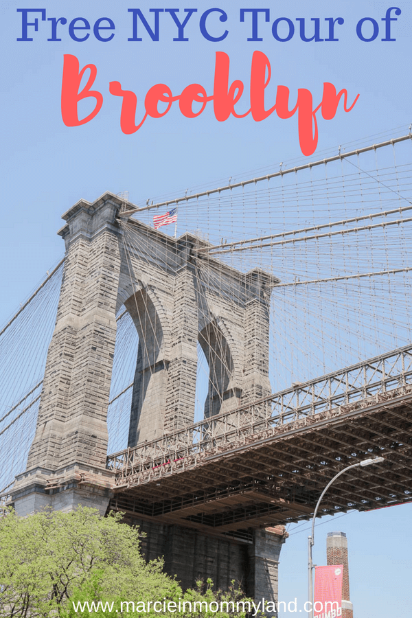 Find out about this free NYC tour of Brooklyn and how to get your own free walking tour of New York City #brooklyn #thingstodoinnyc #nycattractions #nycvacation #visitbrooklyn