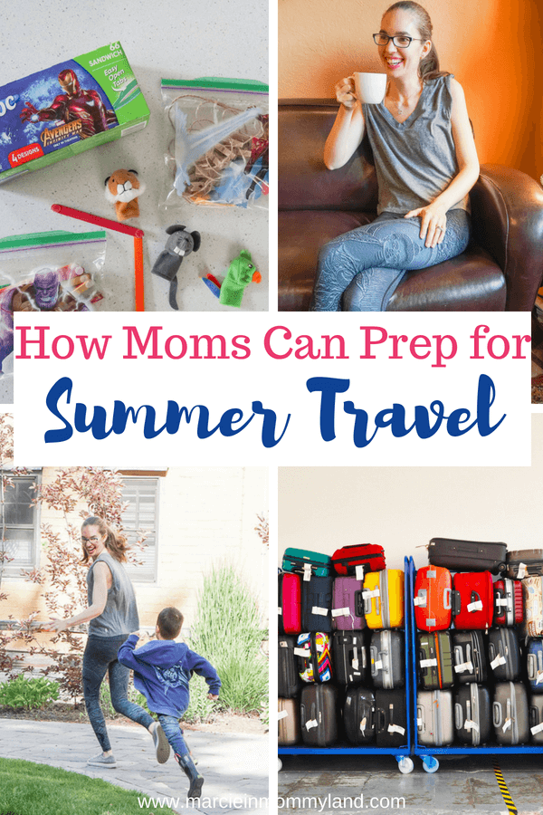 Are you ready for your family summer vacation? See how moms can prep for summer travel with my top tips, including my ultimate packing list. Click to read more or pin to save for later. www.marcieinmommyland.com #familytravel #packinglist #travelwithkids #roadtrip #flyingwithkids