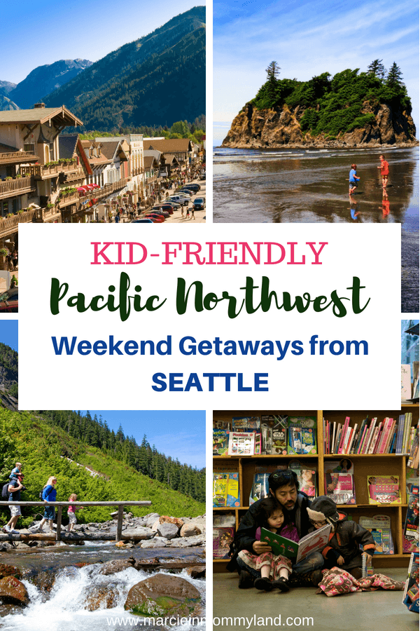 Looking for a family getaway from Seattle? Find out the top PNW vacations from local bloggers. Click to read more or pin to save for later. www.marcieinmommyland.com #familytravel #pacificnorthwest #pnw #washingtonstate #oregon #britishcolumbia #vancouver | The Best Pacific Northwest Family Vacation Ideas featured by top Seattle family travel blog, Marcie in Mommyland